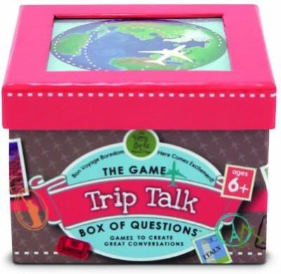 Melissa & Doug Trip Talk Box Of Questions