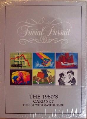 Parker Brothers Trivial Pursuit The 1980,S Set