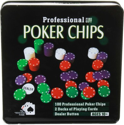 Asquare Mart 100 Chips Professional Poker Set