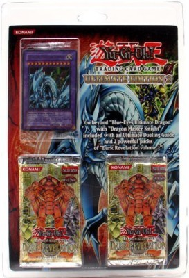 Yu-Gi-Oh! Yu Gi Oh Ultimate Edition 2 Blister Pack (With Dragon