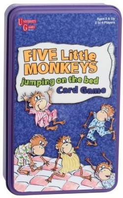 University Games Five Little Monkeys Jumping On Bed