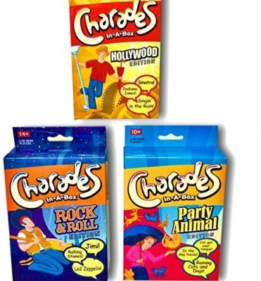 Simply Addictive Games Charadesfor Kids And Adults 3 Pack Of Sperfect For Family