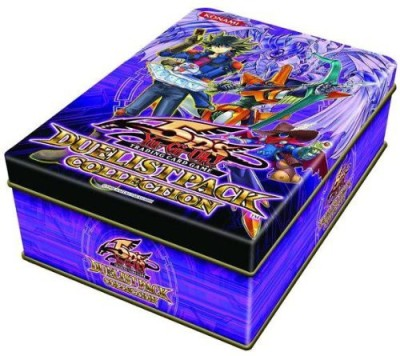 Pokemon Yugioh 5D,S 2010 Duelist Pack Exclusive Collection Tin
