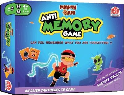 MadRat Games Mighty Raju Anti-memory Game