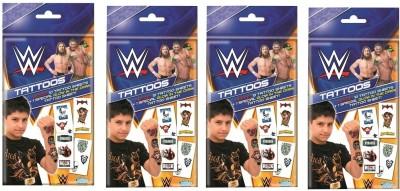 Topps WWE Tattoos Combi