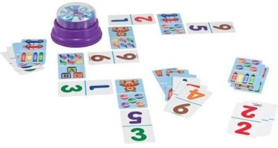 Melissa & Doug Press And Spin Picture Dominoes