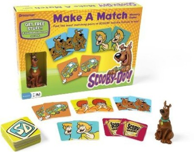 Pressman Toy Scoodoo Make A Match