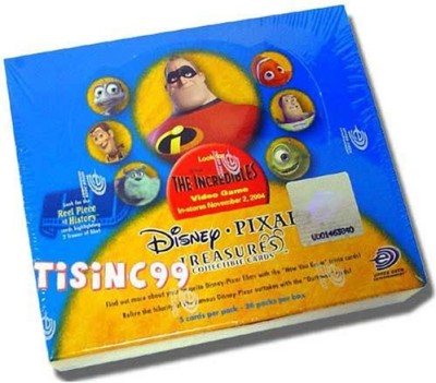 Disney Pixar Treasures The Incredibles Tradingbox