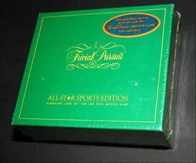 Trivial Pursuit Allstar Sports Edition (Subsidiary Set For Use With Master
