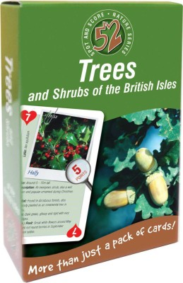 That Company Called IF 52 Ways Nature Series Playing Cards - Trees and Shrubs …