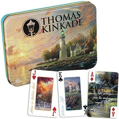 Thomas Kinkade Ceaco High Quality Deluxe Playing Cards