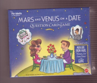 Mattel Mars And Venus On A Date Question