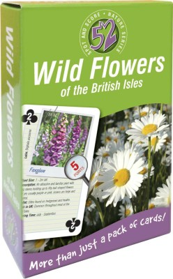 That Company Called IF 52 Ways Nature Series Playing Cards - Wild Flowers …