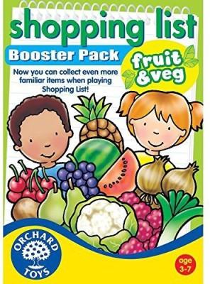 Orchard Toys Shopping List Booster Pack Fruit & Veg