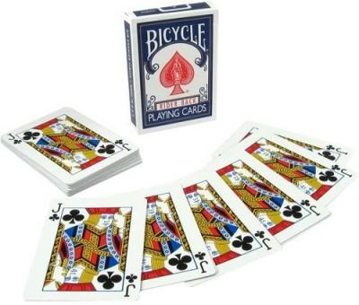 Magic Geek, Inc. Bicycle Svengali Deck Blue