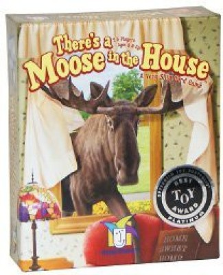 Gamewright There,S A Moose In The House With Free Deck Of Playing Cards