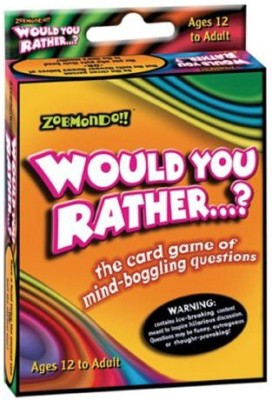 Zobmondo!! Would You Rather Classic