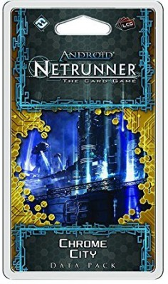 Fantasy Flight Games Android Netrunner Lcg Chrome City Data Pack