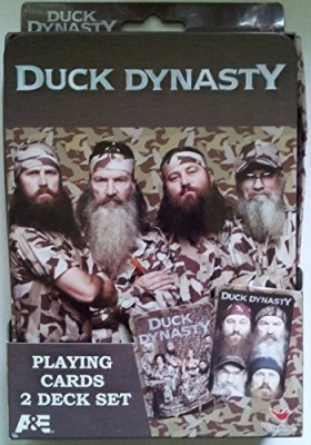 Cardinal Duck Dynasty Playing2 Deck Set In Collectible Tin