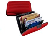 Best 6 Card Holder (Set of 1, Red)