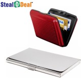 Stealodeal Red and Silver Security Credi...