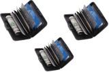 Rsafe 6 Card Holder (Set of 3, Black)