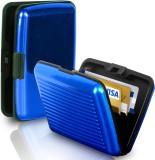 Kcsales 6 Card Holder (Set of 1, Blue)