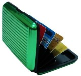 Ambitione 6 Card Holder (Set of 1, Green...