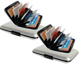 RP 6 Card Holder (Set of 2, Silver)