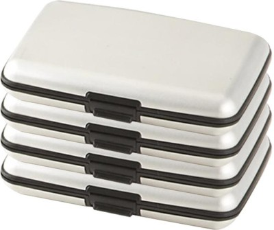 Bemoree Pc-Alumasilver4pc 6 Card Holder