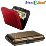 Stealodeal Red and Brown Security Credit...