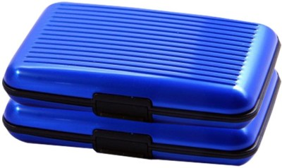 Bemoree Pc-Alumablue2pc 6 Card Holder