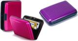Alexus 6 Card Holder (Set of 2, Purple, ...