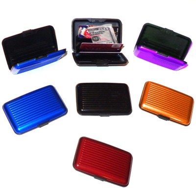 Glitters Pack of 7 10 Card Holder