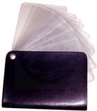 Milano 12 Card Holder (Set of 1, Black)