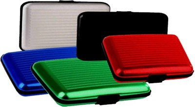Ratan Security Credit/Debit Card Holder Wallet 6 Card Holder(Set of 5, Multicolor)