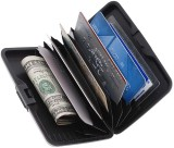 Chevron 6 Card Holder (Set of 1, Black)