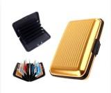 i-gadgets 6 Card Holder (Set of 1, Gold)