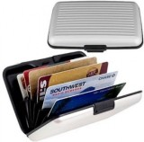 RP 6 Card Holder (Set of 1, Silver)