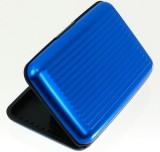 Waiverson 6 Card Holder (Set of 1, Blue)