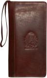 Kan Brown Premium Leather Travel Documen...