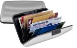 Best 6 Card Holder (Set of 1, Silver)