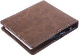 Pyramid 10 Card Holder (Set of 1, Brown)
