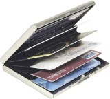 EMPREUS Stainless Steel 6 Card Holder (S...