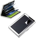 EMPREUS Stainless Steel Black 6 Card Hol...