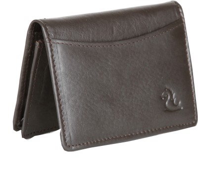 Kara 10 Card Holder(Set of 1, Brown)