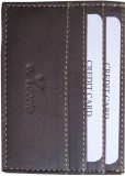eXcorio 4 Card Holder (Set of 1, Brown)
