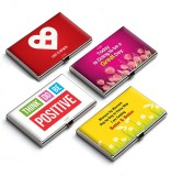 QuoteSutra 10 Card Holder (Set of 4, Red...