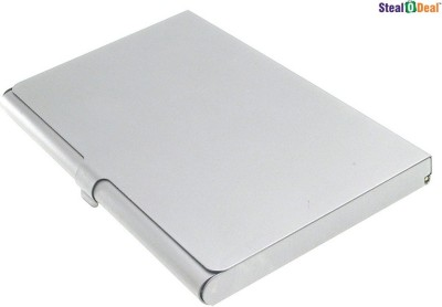 Stealodeal Executive Steel 10 Card Holder