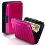 Security 6 Card Holder (Set of 1, Pink)